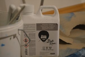 Official Bob Ross odourless paint thinner