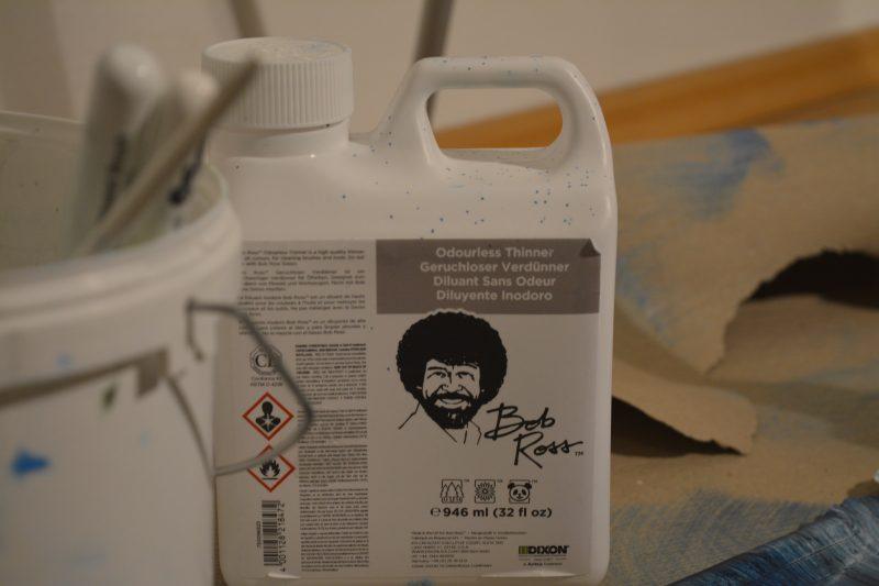 Official Bob Ross odourless paint thinner