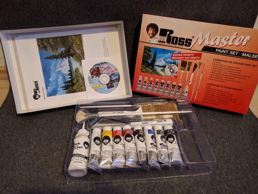 Bob Ross Master Paint Set Review Twoinchbrush