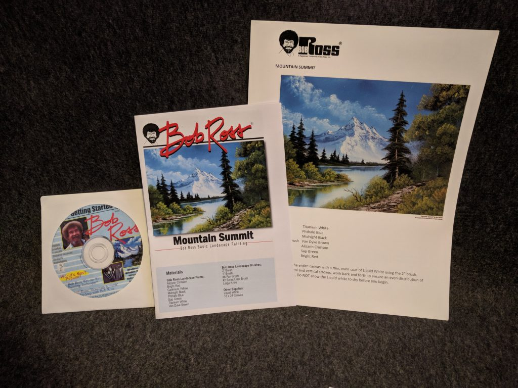 Bob Ross Master Set Instructions