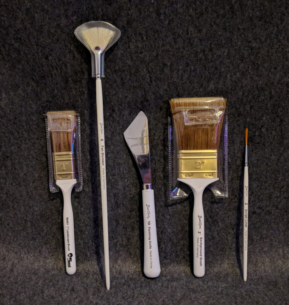 Bob Ross Master Set Tools