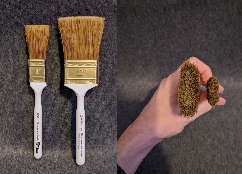 Bob Ross Brushes