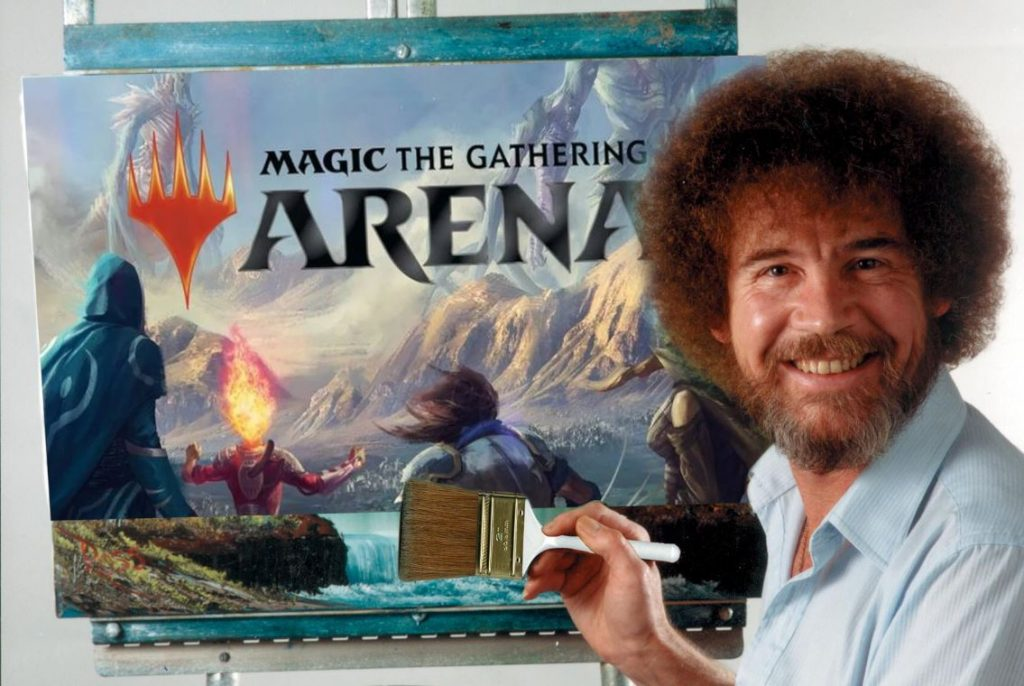 Magic The Gathering Bob Ross