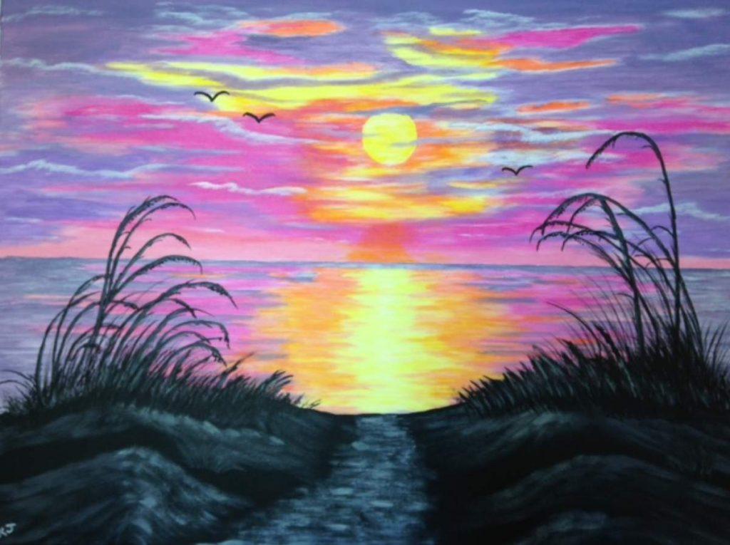 'KJ's version of 'Ocean Sunrise'