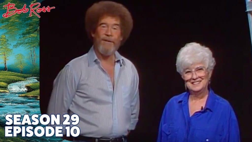 Bob Ross and Annette Kowalski
