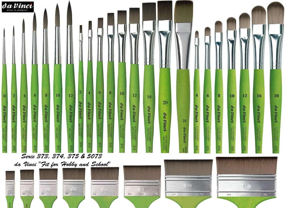 Da Vinci Paint Brushes