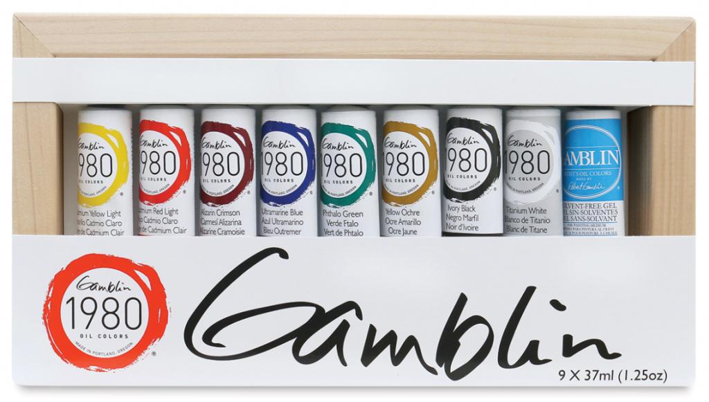 Gamblin 1980 Oil Paints